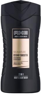 Axe Signature Cedar Smooth Douchegel voor Mannen 250 ml