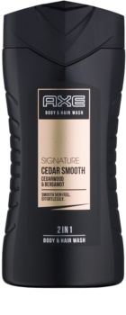 Axe Signature Cedar Smooth Duschgel für Herren 250 ml