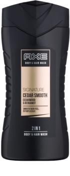 Axe Signature Cedar Smooth gel douche pour homme 250 ml