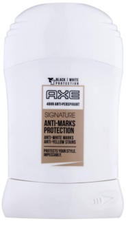 Axe Signature Anti-Marks Protection deodorante stick per uomo 50 ml
