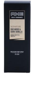Axe Signature Oud Wood and Dark Vanilla pršilo za telo za moške 100 ml