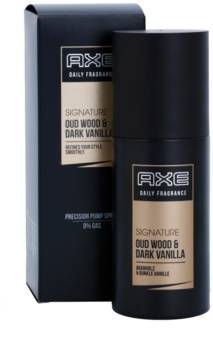 Axe Signature Oud Wood and Dark Vanilla spray pentru corp pentru barbati 100 ml