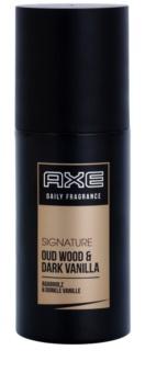 Axe Signature Oud Wood and Dark Vanilla spray pentru corp pentru bărbați 100 ml