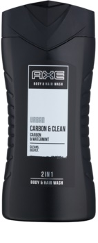 Axe Urban Carbon & Clean gel za prhanje za moške 250 ml