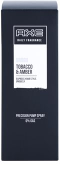 Axe Urban Tabacco and Amber Σπρεϊ σώματος για άνδρες 100 μλ