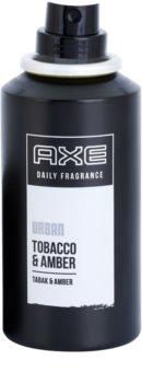 Axe Urban Tabacco and Amber spray corporel pour homme 100 ml