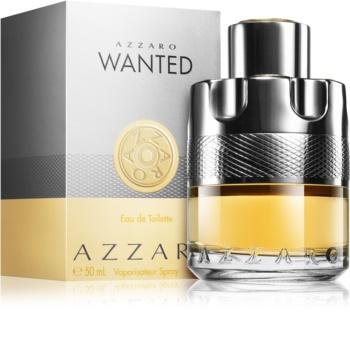 Azzaro Wanted Eau De Toilette For Men 50 Ml Notinofi