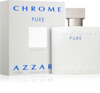 Azzaro Chrome Pure eau de toilette pentru barbati 100 ml