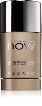 Azzaro Now Men desodorizante em stick para homens 75 ml