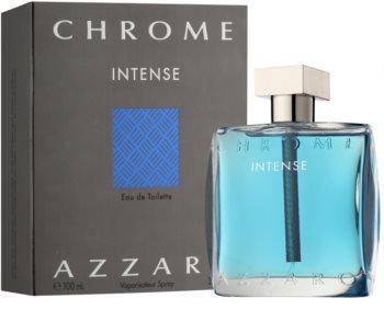 Azzaro Chrome Intense eau de toilette per uomo 100 ml