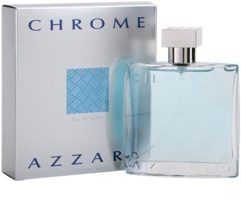 Azzaro Chrome Eau de Toilette para homens 100 ml
