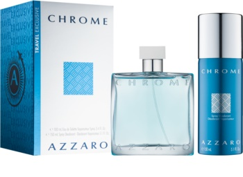 Azzaro Chrome Gift Set  IX.