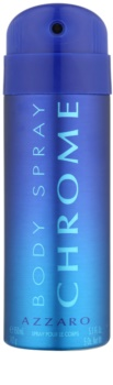 Azzaro Chrome tělový sprej pro muže 150 ml