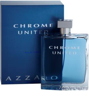 Azzaro Chrome United Eau de Toilette para homens 200 ml