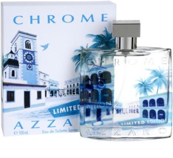 Azzaro Chrome Limited Edition 2014 eau de toilette per uomo 100 ml