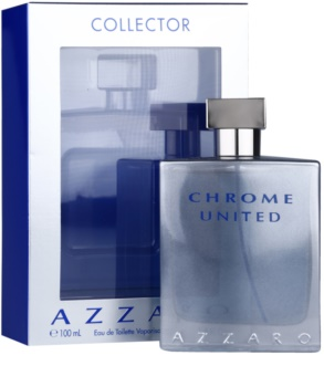 Azzaro Chrome United Collector Edition Eau de Toilette para homens 100 ml