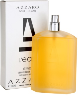 16b4cba4f09 Azzaro Azzaro Pour Homme L´Eau Eau de Toilette tester for Men 100 ml