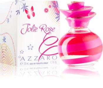 Azzaro Jolie Rose toaletna voda za ženske 50 ml
