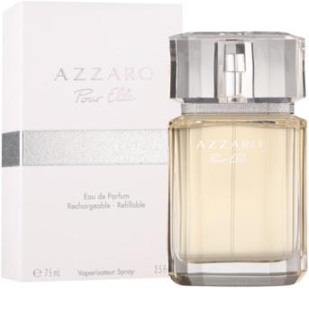 Azzaro Pour Elle Eau de Parfum για γυναίκες 75 μλ επαναπληρώσιμο