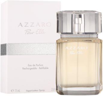 fe0ce990445 Azzaro Pour Elle. Eau de Parfum para mulheres 75 ml recarregável