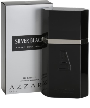 Azzaro Silver Black Eau de Toilette for Men 100 ml