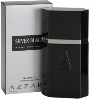 Azzaro Silver Black Eau de Toillete για άνδρες 100 μλ