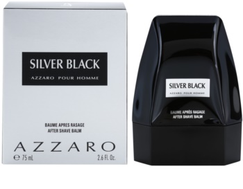 Azzaro Silver Black Aftershave Balsem  voor Mannen 75 ml