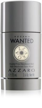 Azzaro Wanted desodorizante em stick para homens 75 ml