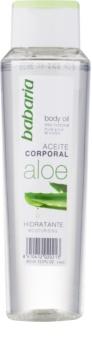 Babaria Aloe Vera hidratáló testápoló olaj Aloe Vera tartalommal