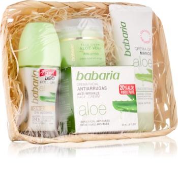Babaria Aloe Vera coffret cosmétique V.
