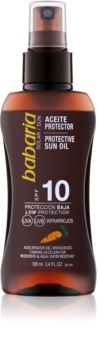 Babaria Sun Protective olio abbronzante SPF 10