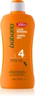 Babaria Sun Bronceadora ενυδατικό γαλάκτωμα για υποστήριξη μαυρίσματος