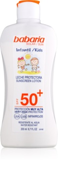 Babaria Sun Infantil παιδική αντηλιακή κρέμα  SPF 50+