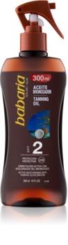 Babaria Sun Bronceadora hydratačný olej pre podporu opálenia