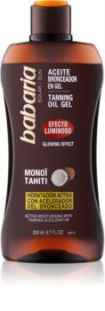 Babaria Sun Bronceadora Brightening Gel for Tan Enhancement