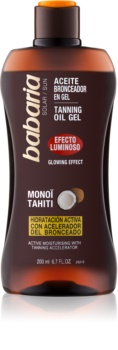 Babaria Sun Bronceadora Brightening Gel for Tan Enhancement