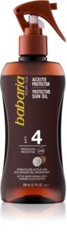 Babaria Sun Bronceadora Spray med kroppsolja för förbättring av solbränna