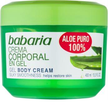 Babaria Aloe Vera gel hydratant corps