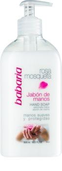 Babaria Rosa Mosqueta savon liquide mains
