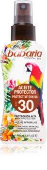 Babaria Tropical Sun Schutzöl zur Förderung der Bräunung SPF 30