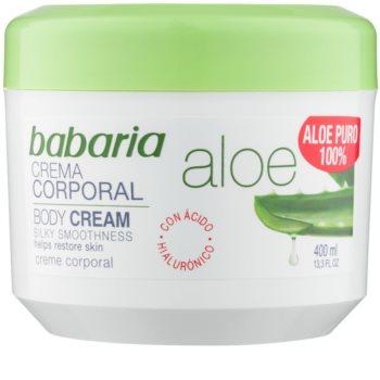 Babaria Aloe Vera crème corporelle à l'aloe vera