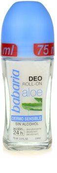 Babaria Aloe Vera déodorant roll-on à l'aloe vera