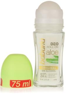 Babaria Aloe Vera deodorante roll-on con aloe vera