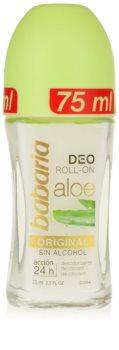 Babaria Aloe Vera dezodorant w kulce z aloesem