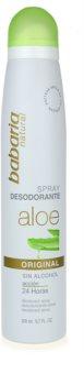 Babaria Aloe Vera Deodorant Spray mit Aloe Vera