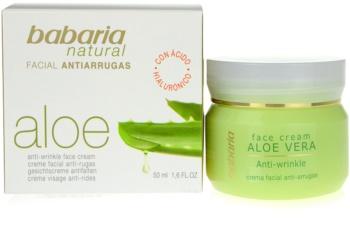 Babaria Aloe Vera Gezichtscrème  met Aloe Vera