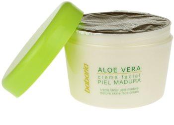 Babaria Aloe Vera pleťový krém pro zralou pleť