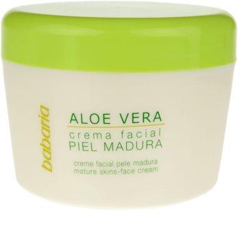 Babaria Aloe Vera krema za obraz za zrelo kožo
