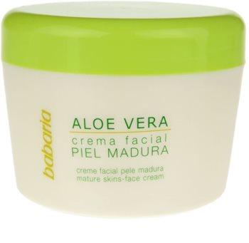 Babaria Aloe Vera крем для обличчя для зрілої шкіри