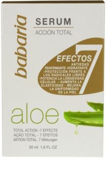 Babaria Aloe Vera bőr szérum Aloe Vera tartalommal